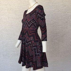 Derek heart boho dress